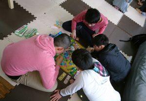 友達と人生ゲーム