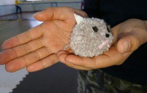 毛糸を使ったマスコット