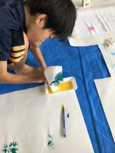 絵の具を使う