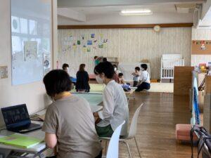 幼稚園座談会の様子